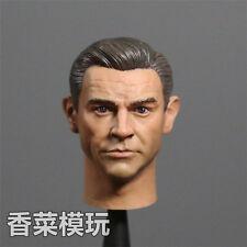 NEW 1/6 action figure toys James Bond original 007 Sean Connery headplay