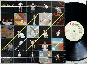 Vinyl LP Fischer - Z WORD SALAD  New Wave 1984 Reissue