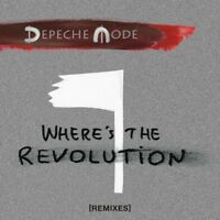 DEPECHE MODE - WHERE'S THE REVOLUTION (REMIXES)   CD SINGLE NEW
