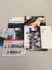 BMW Owners Manual Set Radio Technology Radio Care Service Warranty 2002 BMWCCA