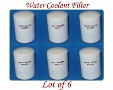6 PCS coolant Spin-on Water Filter Fit: Caterpillar Komatsu Cummis Atlas-Copco