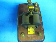 VINTAGE SIGNAL ELECTRIC MFG CO TELEGRAPH RELAY 20 OHMS MORSE CODE SOUNDER
