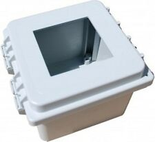 Hoffman 851FG Wall Polycarbonate Mountable Enclosure with 1 x 1/4 DIN