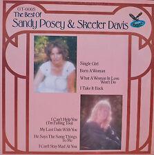 "THE BEST OF SANDY POSEY & SKEETER DAVIS - LP 12"" (R953)"