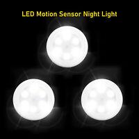 NEW 6 LED Wireless Motion Sensor Wall Light, Mini Round Night Light