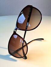 VINTAGE DUNHILL 6040 SUNGLASSES ROOT WOOD NOS RARE Hipster Optyl Austria UNISEX