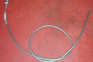 Suzuki T 500 Brems Seil Zug vorne silber front brake wire silver 58100-15101 55