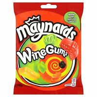 MAYNARDS BASSETTS WINE GUMS 165G BAG SWEETS TREATS PARTY CHRISTMAS PRESENTS
