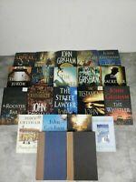 John Grisham Lot of 21 Hardcover First Edition Novels. 5 Bonus books. 26 total