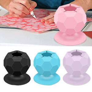 Tabletop Silicone Weeding Waste Scrap Collector Storage Box with Suction Cup