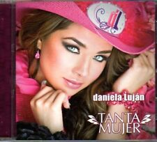 DANIELA LUJAN Tanta Mujer CD new includes REMIX REMIXES como ANA BARBARA Belinda