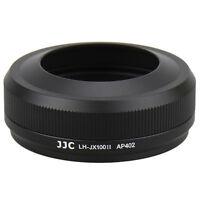 JJC LH-JX100II Black Lens Hood AS LH-X100 for Fuji Fujifilm X100F X100T X100V