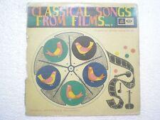 ASHA LATA MD RAFI  SONGS FILM VOLIII  1968 LP BOLLYWOOD CLASSICAL VG+