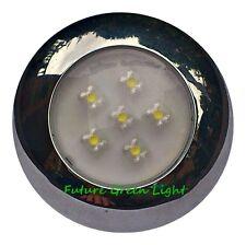 CARAVAN 6 WHITE LED INTERIOR / EXTERIOR WATERPROOF LIGHT 12V or 24V DC