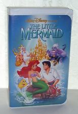 Disney VHS The Little Mermaid Out Of Print Banned Rare Cover Art Black Diamond