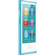 Official Apple iPod Nano 7th Gen Blue 2 *VGWC*+Warranty!!