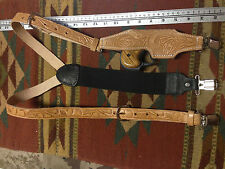 Leather Suspenders w/ Derringer Holster Cimarron CFA Charter Arms Dixie American