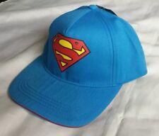 Superman Adjustable Baseball Cap Junior Size DC Comics 100 Cotton
