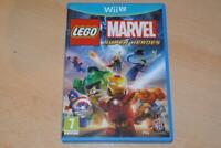 Lego Marvel Super Heroes Nintendo Wii U UK PAL **FREE UK POSTAGE**