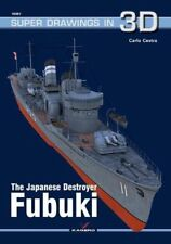 Kagero Super Drawings in 3D 61: The Japanese Destroyer Fubuki