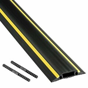 D-Line Floor Cord Cover Cable Protector FC83H 6 Foot Linkable Protect Cord 1 Pc