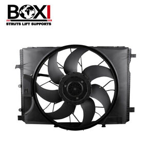 Radiator Cooling Fan Assembly For Mercedes-Benz Fits E350 C300 C350 C63 AMG W212