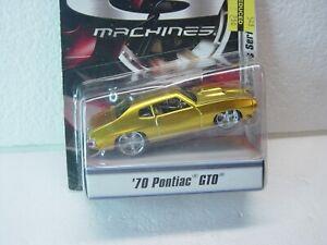 HOT WHEELS G MACHINES 1:50 70' PONTIAC GTO GOLD