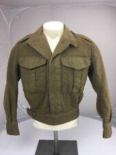 "EUC VTG 1952 ""Bishop & Woodward Pty Ltd"" Australian Brown Button Bomber Jacket S"
