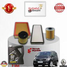 Servicesatz Filter + Öl Renault Espace IV 2.0 DCI 110kw 150hp von 2013 ->