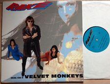 THE VELVET MONKEYS (Thurston Moore, J. Mascis ecc...) / RAKE - LP (US - 1990)