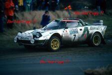 Sandro Munari Alitalia Lancia Stratos HF Rally Rac 1977 fotografía 1