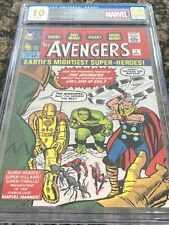 Avengers #1 Pure Silver Foil (35g) CGC 10 First Release Marvel Only 1000 Minted