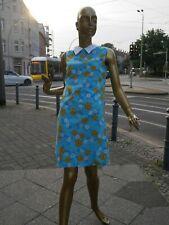 Gigi Minikleid 38 S SHiFT Kleid 60er TRUE VINTAGE twiggy dress Pan collar 60s