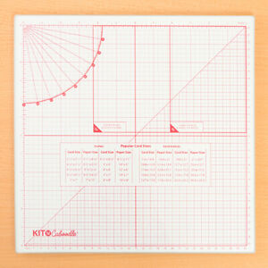 Kit 'N' Caboodle Glass Cutting Mat - 13 Inches Square - Free  UK P&P