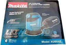 """New Makita 18V XOB01Z LXT Cordless Sander 5"""" Randon Orbit LXT 18 Volt Lit-Ion"""