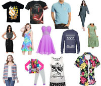 New Clothes Wholesale Job Lot Lots Women's Men's Children's Mixed Various Items
