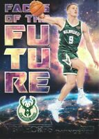 2018-19 NBA Hoops Faces of the Future #17 Donte DiVincenzo Milwaukee Bucks