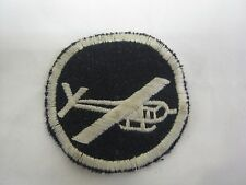 WW 2 US Army Glider Troops Overseas Cap Patch Reproduction