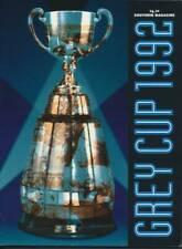 1992 Vintage CFL Grey Cup Program  Calgary Stampeders vs Winnipeg Blue Bombers