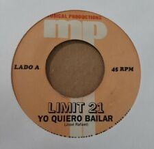Limit 21 Yo Quiero Bailar MP Records VG+ 45RPM #2309