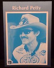 RICHARD PETTY 1991 Tuff Stuff Magazine ERROR Card CYAN ONLY Front SUPER RARE!!