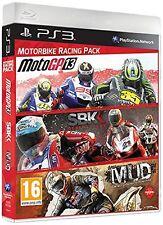 Motorbike Racing Pack: MotoGP 13 + SBK Generations + MUD [PlayStation 3 PS3] NEW