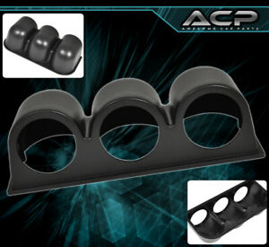 Performance 52MM Triple 3 Hole Gauge Pod Meter ABS Plastic For ES300 GS300 IS300