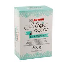 ++ Tortenspitze Magic Decor 500 gr Pulver essabre Tortenspitze, auch zum einfärb
