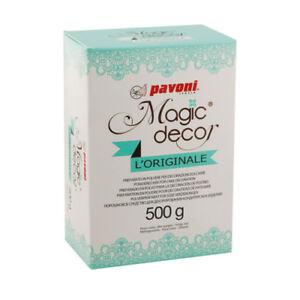 Tortenspitze Magic Decor 500 gr Pulver essabre Tortenspitze, auch zum einfärben