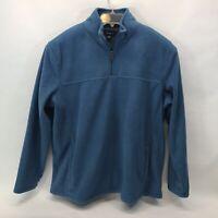 Croft & Barrow Men's Quarter Zip Pullover Fleece Top XXL