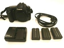 Canon EOS 30D 8.2MP Digital SLR Camera - with charger and extra batteries