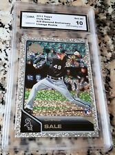 CHRIS SALE 2011 Topps Lineage Diamond SP Rookie Card RC Logo GEM MINT 10 Red Sox