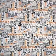 Travel Fabric Destinations City Words /& Sights Taupe Northcott YARD