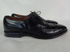 Allen Edmonds McAllister Men's Wingtip Oxford Leather Black Lace Up 10.5 AA